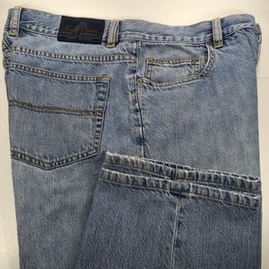 Indigo Palms Classic Fit Mens Blue Jeans 32x32